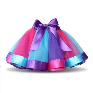 Pink, Purple, Teal Tutu